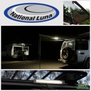 National Luna Clip On Dual Power Lights 27 LED