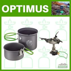 Optimus Crux Lite with Terra Solo Cook System