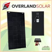 Overland Solar 100 Watt SunPower Maxeon Panel With Controller