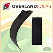 Overland Solar 160 Watt Semi-Flexible SunPower Gen 3 Panel