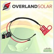 Overland Solar Extra Anderson Battery Hard Wire Connection