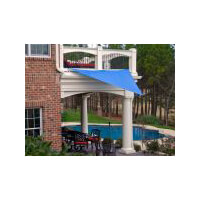 King Canopy Sun Shade Sail 10 Triangle