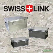 Swiss Link Aluminum Storage Cases