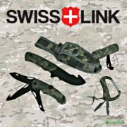 Swiss Link German Military Issue Combat Knife Set