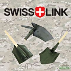 Swiss Link German Repro Shovel with Pick