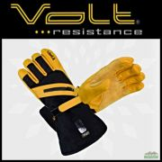 Volt Resistance WORK Mens 7V Leather Heated Gloves