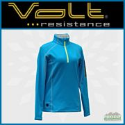Volt Resistance THZ Women 5V Heated Thermal Half-Zip Pullover